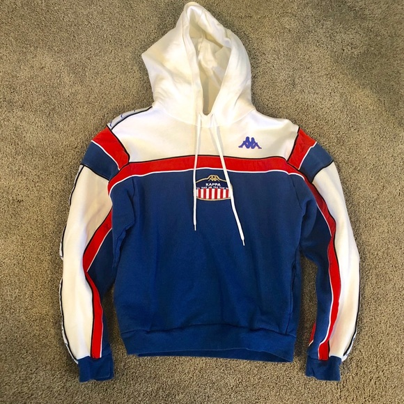 1a463877 Vintage USA Track and Field Hoodie Kappa NWOT